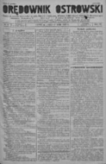 Orędownik Ostrowski: pismo na powiat ostrowski i miasto Ostrów, Odolanów, Mikstat, Sulmierzyce, Raszków i Skalmierzyce 1937.05.21 R.86 Nr41