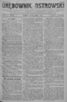 Orędownik Ostrowski: pismo na powiat ostrowski i miasto Ostrów, Odolanów, Mikstat, Sulmierzyce, Raszków i Skalmierzyce 1937.07.06 R.86 Nr54