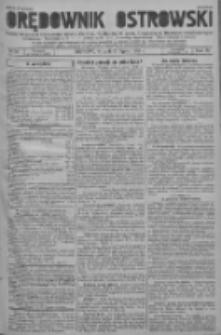 Orędownik Ostrowski: pismo na powiat ostrowski i miasto Ostrów, Odolanów, Mikstat, Sulmierzyce, Raszków i Skalmierzyce 1937.07.20 R.86 Nr58