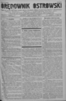 Orędownik Ostrowski: pismo na powiat ostrowski i miasto Ostrów, Odolanów, Mikstat, Sulmierzyce, Raszków i Skalmierzyce 1937.08.06 R.86 Nr63