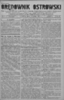Orędownik Ostrowski: pismo na powiat ostrowski i miasto Ostrów, Odolanów, Mikstat, Sulmierzyce, Raszków i Skalmierzyce 1937.09.01 R.86 Nr71