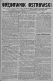 Orędownik Ostrowski: pismo na powiat ostrowski i miasto Ostrów, Odolanów, Mikstat, Sulmierzyce, Raszków i Skalmierzyce 1937.09.13 R.86 Nr76