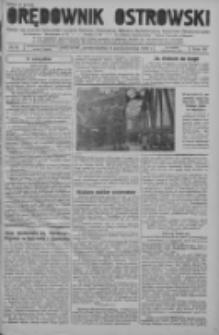 Orędownik Ostrowski: pismo na powiat ostrowski i miasto Ostrów, Odolanów, Mikstat, Sulmierzyce, Raszków i Skalmierzyce 1937.10.04 R.86 Nr85