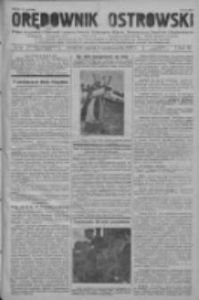 Orędownik Ostrowski: pismo na powiat ostrowski i miasto Ostrów, Odolanów, Mikstat, Sulmierzyce, Raszków i Skalmierzyce 1937.10.15 R.86 Nr90