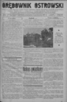 Orędownik Ostrowski: pismo na powiat ostrowski i miasto Ostrów, Odolanów, Mikstat, Sulmierzyce, Raszków i Skalmierzyce 1937.10.25 R.86 Nr94
