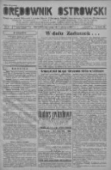 Orędownik Ostrowski: pismo na powiat ostrowski i miasto Ostrów, Odolanów, Mikstat, Sulmierzyce, Raszków i Skalmierzyce 1937.11.01 R.86 Nr97
