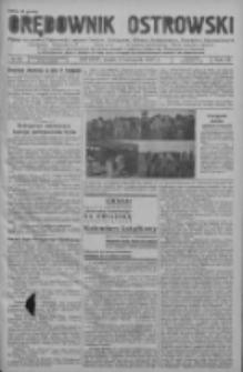 Orędownik Ostrowski: pismo na powiat ostrowski i miasto Ostrów, Odolanów, Mikstat, Sulmierzyce, Raszków i Skalmierzyce 1937.11.03 R.86 Nr98