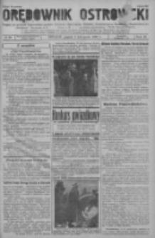 Orędownik Ostrowski: pismo na powiat ostrowski i miasto Ostrów, Odolanów, Mikstat, Sulmierzyce, Raszków i Skalmierzyce 1937.11.05 R.86 Nr99