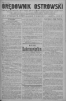 Orędownik Ostrowski: pismo na powiat ostrowski i miasto Ostrów, Odolanów, Mikstat, Sulmierzyce, Raszków i Skalmierzyce 1937.12.20 R.86 Nr118