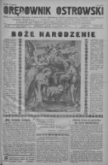 Orędownik Ostrowski: pismo na powiat ostrowski i miasto Ostrów, Odolanów, Mikstat, Sulmierzyce, Raszków i Skalmierzyce 1937.12.24 R.86 Nr120