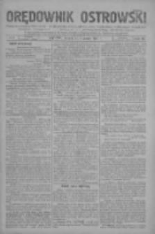 Orędownik Ostrowski: pismo na miasto i powiaty Ostrowski i Odolanowski oraz miast Ostrowa, Odolanowa, Sulmierzyc i Raszkowa 1931.01.27 R.80 Nr8