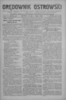 Orędownik Ostrowski: pismo na miasto i powiaty Ostrowski i Odolanowski oraz miast Ostrowa, Odolanowa, Sulmierzyc i Raszkowa 1931.02.17 R.80 Nr14