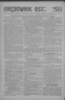 Orędownik Ostrowski: pismo na miasto i powiaty Ostrowski i Odolanowski oraz miast Ostrowa, Odolanowa, Sulmierzyc i Raszkowa 1931.06.05 R.80 Nr45