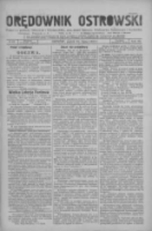 Orędownik Ostrowski: pismo na miasto i powiaty Ostrowski i Odolanowski oraz miast Ostrowa, Odolanowa, Sulmierzyc i Raszkowa 1931.07.31 R.80 Nr61