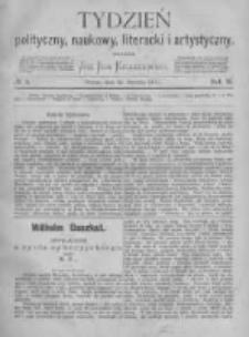 Tydzień Polityczny, Naukowy, Literacki i Artystyczny. 1871 R.2 nr3
