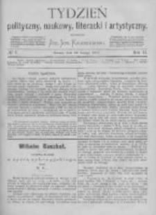 Tydzień Polityczny, Naukowy, Literacki i Artystyczny. 1871 R.2 nr7