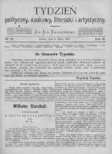 Tydzień Polityczny, Naukowy, Literacki i Artystyczny. 1871 R.2 nr10