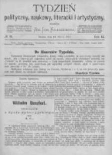 Tydzień Polityczny, Naukowy, Literacki i Artystyczny. 1871 R.2 nr11