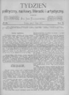 Tydzień Polityczny, Naukowy, Literacki i Artystyczny. 1871 R.2 nr19