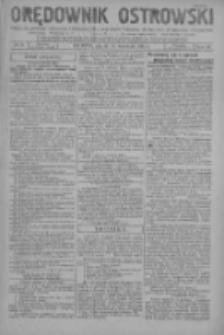 Orędownik Ostrowski: pismo na miasto i powiaty Ostrowski i Odolanowski oraz miast Ostrowa, Odolanowa, Sulmierzyc i Raszkowa 1931.09.11 R.80 Nr73