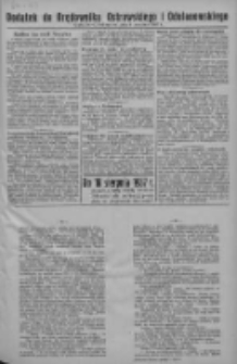 Dodatek do Orędownika Ostrowskiego i Odolanowskiego 1937.08.06