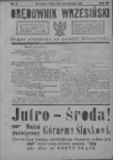 Orędownik Wrzesiński 1921.01.05 R.3 Nr2