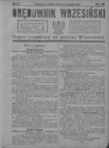 Orędownik Wrzesiński 1921.01.08 R.3 Nr3