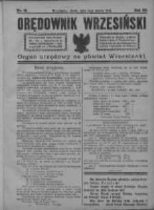 Orędownik Wrzesiński 1921.03.02 R.3 Nr18