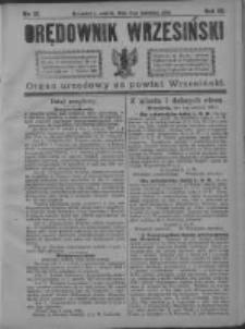 Orędownik Wrzesiński 1921.04.02 R.3 Nr27