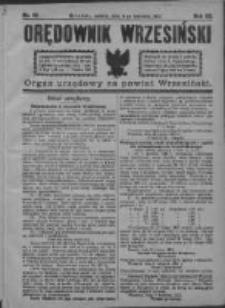 Orędownik Wrzesiński 1921.04.09 R.3 Nr29