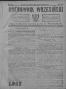 Orędownik Wrzesiński 1921.04.16 R.3 Nr31