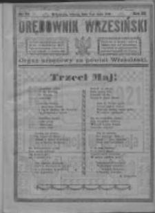 Orędownik Wrzesiński 1921.05.03 R.3 Nr36