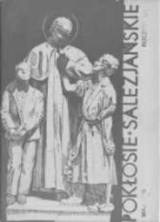 Pokłosie Salezjańskie. 1935 R.19 nr5