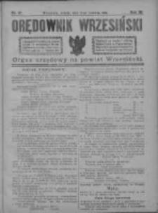 Orędownik Wrzesiński 1921.06.11 R.3 Nr47