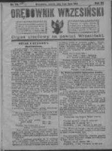 Orędownik Wrzesiński 1921.07.09 R.3 Nr54