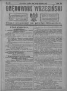 Orędownik Wrzesiński 1921.08.24 R.3 Nr67