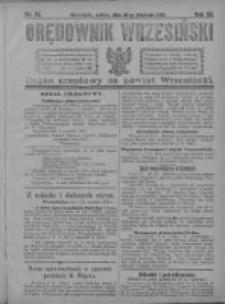 Orędownik Wrzesiński 1921.09.10 R.3 Nr72
