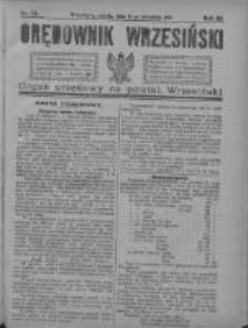 Orędownik Wrzesiński 1921.09.17 R.3 Nr74