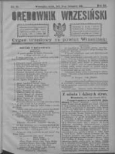 Orędownik Wrzesiński 1921.11.16 R.3 Nr91