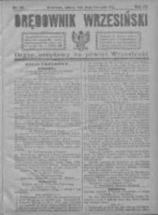 Orędownik Wrzesiński 1921.11.19 R.3 Nr92
