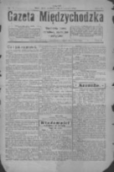 Gazeta Międzychodzka: niezależne pismo narodowe, społeczne i polityczne 1926.01.03 R.4 Nr1