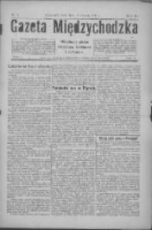Gazeta Międzychodzka: niezależne pismo narodowe, społeczne i polityczne 1926.01.13 R.4 Nr4