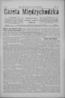 Gazeta Międzychodzka: niezależne pismo narodowe, społeczne i polityczne 1926.01.22 R.4 Nr8