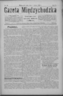 Gazeta Międzychodzka: niezależne pismo narodowe, społeczne i polityczne 1926.02.19 R.4 Nr20