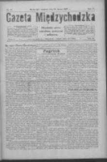 Gazeta Międzychodzka: niezależne pismo narodowe, społeczne i polityczne 1926.02.21 R.4 Nr21
