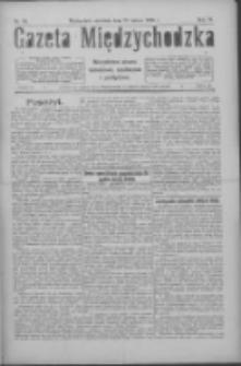 Gazeta Międzychodzka: niezależne pismo narodowe, społeczne i polityczne 1926.02.28 R.4 Nr24