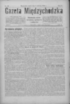 Gazeta Międzychodzka: niezależne pismo narodowe, społeczne i polityczne 1926.04.09 R.4 Nr40