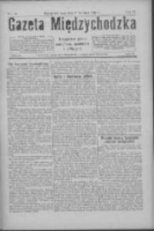 Gazeta Międzychodzka: niezależne pismo narodowe, społeczne i polityczne 1926.04.21 R.4 Nr45