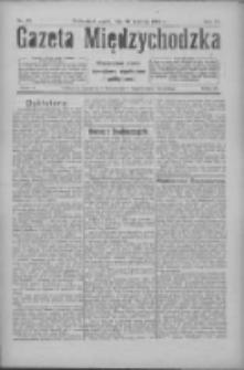 Gazeta Międzychodzka: niezależne pismo narodowe, społeczne i polityczne 1926.04.30 R.4 Nr49