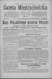 Gazeta Międzychodzka: niezależne pismo narodowe, społeczne i polityczne 1926.05.16 R.4 Nr55